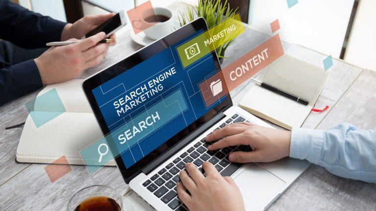 Suchmaschinen Platzierung Header
