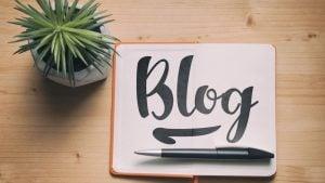 Blog Post header