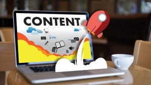 Website Content Creation Header